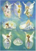DISNEY FAIRIES ~ OVAL PORTRAITS 24x36 POSTER NEW/ROLLED! Tinkerbell