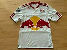 Adidas MLS New York Red Bull  Climacool Soccer Jersey Mens Sz L