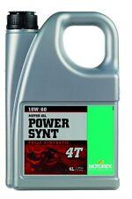 Motorex Power SYNT 4T Oil 10W50 4L. 110452