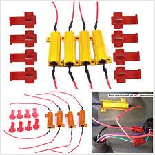 4 Pcs 50W 6-Ohm Load Resistors For Car Hyper Flash Turn Signal Blink Blinker LED