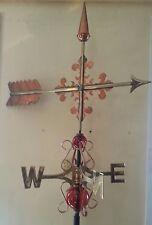 Beautiful Copper Arrow weathervane, Complete Setup + mount