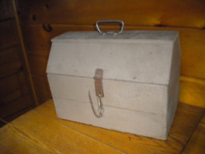 Vintage Wooden Handmade TOOL CHEST  / Old Dynamite Box