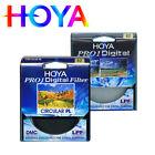 HOYA PRO1 UV combination Hoya CIR CULAR PL 62mm multi-coated ultra-thin filter