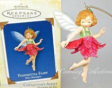 2005 Hallmark Poinsettia Fairy Flower Messengers Keepsake Ornament 1st Series #1