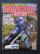 1994 October MOTOCROSS ACTION Magazine moto x mx dirt bike racer AHRMA Vintage