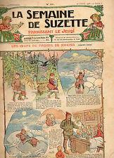 LA SEMAINE DE SUZETTE N° 11, Avril 1908,  BLEUETTE