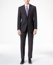 $825 CALVIN KLEIN Mens Extreme Slim Fit Wool Suit Gray 2 PIECE JACKET PANTS 38 S