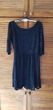 Primark Dress UK 10 lace atmosphere edition - black goth dark fashion
