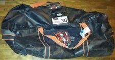 (WHL) MEDICINE HAT TIGERS Marek Langhamer used goalie equipment bag (2012-2015)