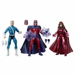 Marvel Legends Xmen Family Matters Magneto Scarlet Witch Quicksilver 3 Pack NEW
