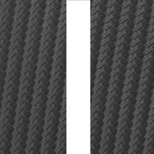 """CARBON FIBRE Bonnet Stripes Viper Style 3m(10') x12.5cm(5"""") fits VOLVO / SAAB"""