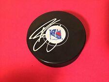 Brady Skjei Rangers Hockey Signed Auto Puck COA