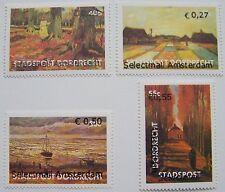 Stadspost Amsterdam 2006 - Serie Vincent van Gogh met opdruk op zegel Dordrecht