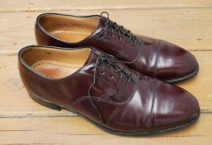 Johnston & Murphy 24-93120 Men's Burgundy Cap Toe Dress Oxfords Size 11.5 D/B
