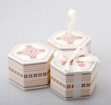100 Personalised Hexagonal Wedding Favours Bonbonniere