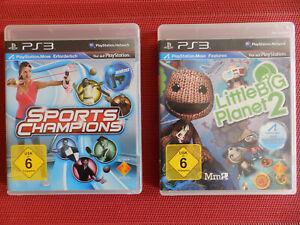 PS3 Videospiele Doppelpack SPORT CHAMPIONS und LITTLE BIG PLANET 2