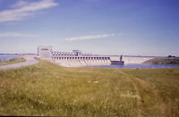 Vintage Photo Slide 1987 Robert Moses Dam