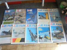 Lot 52 Magazines Avion Aéronautique Aviation DESIGN AIR FAN COSMOS .AERO