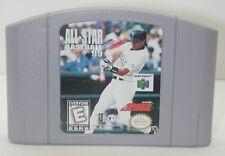 Nintendo N64 All-Star Baseball 99 Game Cartridge. Works. R13559