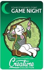 Star City Games Game Night MTG Creature Collection Imperious Purrfect Elf Pin