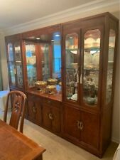 Thomasville Mystique Dining Room Set table, 6 chairs and china cabinets.