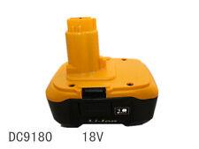 1pcs 3000mA 18V 54wh new generic rechargeable li-ion battery for dewalt DC9180