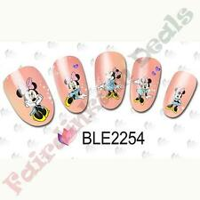 20 Minnie Mouse Cartoon Nail Art Stickers Water Decals BLE2254