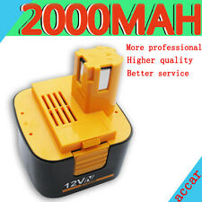 Battery For Panasonic 12V Drill Driver 2.0Ah EY9200 EY9201 EY9001 EY9005 EY9106
