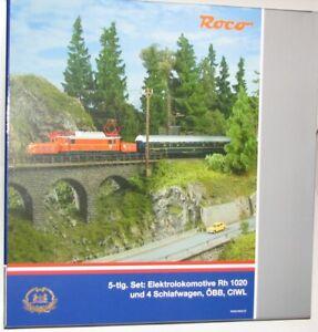 """Roco H0 61468 Leerkarton """"Rh 1020 + CIWL Schlafwagen"""" - NEU"""