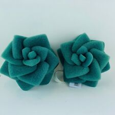 (2 Pack) Bath & Body Works Green Flower Bath Sponge With Loop For Shower Gels