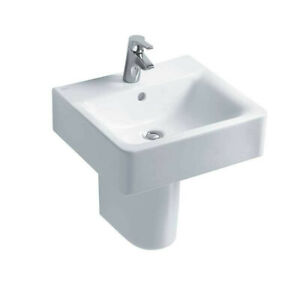 Ideal Standard Concept Cube 55cm Washbasin One Tap Hole - Basin Only - E784201