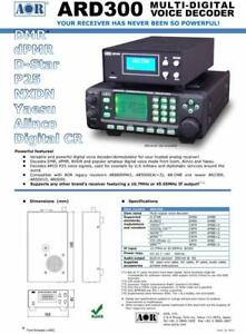 AOR Multi Digital Voice Decoder ARD300 Communication Receiving Adapter F/S