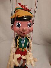 Pelham puppets  Pinocchio Walt Disney 1962 Rare  Edition  Original  box...
