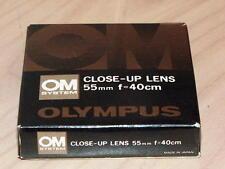 OLYMPUS OM ZUIKO 55mm CLOSE UP LENS NEW IN BOX