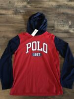 Nwt Mens Ralph Lauren Polo Long Sleeve Tshirt Hoodie Medium