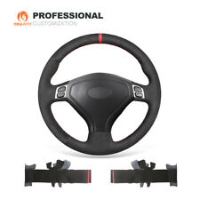 Custom Soft Suede Car Steering Wheel Cover for Subaru Forester Legacy Outback