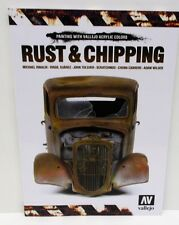 Vallejo - Painting With Vallejo Acrylic Colours - Rust & Chipping           Book