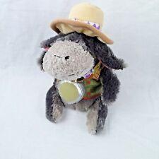 Disneyland Resort Safari Eeyore Bean Bag Plush Toy 9 Inch With Tag