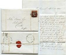GB 1845 WEST BROMWICH 898 SUPERB NUMERAL PENNY RED Plate 50 NL 4 MARGINS LETTER