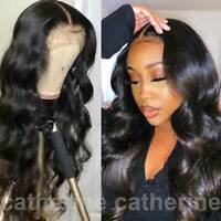 Deluxe Wavy 100% Peruvian Remy Human Hair Wig Lace Front Wig Full Lace Wig Women