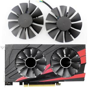 For ASUS STRIX GTX1050Ti GTX 1050 Ti RX460 RX560 75mm HQ Cooler Fan T128010BH