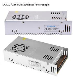 360W 12V / 24V LED Driver Switching Power Supply Transformer for LED Strip CCTV