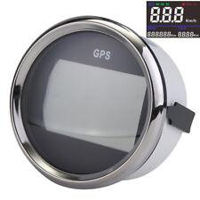 52mm Black GPS Speedometer Gauge 0~999 for Car Truck Motorcycle ATV Boat Yacht