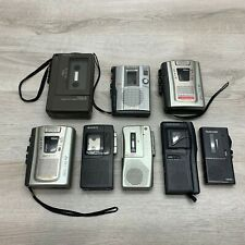 Lot of Sony Cassette-Corder & Microcassette Recorder - Parts Only Tcm-200Dv S830