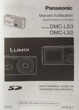 Panasonic dmc-ls3/dmc-ls2 Manuel d'utilisation français French Manual - (14397)