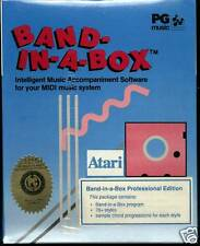 BAND IN A BOX Professional Edition Atari ST NEW SEALED VERSION 4