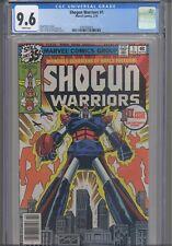 Shogun Warriors #1 CGC 9.6 1979 Marvel: 8 years before Transformers: New Frame