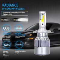 H4 HB2 9003 COB Hi/Lo Beam 1500W 225000LM LED Car Headlight Bulb White 6000K 12V
