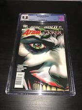 Brave And The Bold #31 CGC 9.8 Newsstand Variant Joker Atom 2010