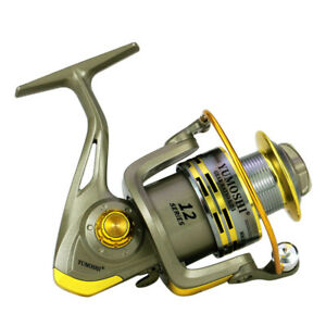 12+1BB Ball Bearing Fishing Spinning Reel Right Left Hand Saltwater Freshwater